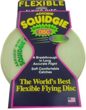 Aerobie Squidgie Disc-Glow In The Dark (C02G0130003)