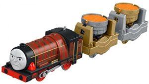 Fisher Price Thomas Trackmaster Μηχανοκίνητα Τρένα Με 2 Βαγόνια-8 Σχέδια (BMK93)