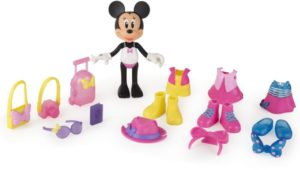 M.C.H Shopping Κούκλες Minnie 12cm Με Ρούχα-3 Σχέδια (1003-82615)