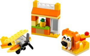 LEGO Classic Orange Creativity Box (10709)