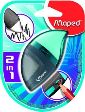 Maped Mondo Ξύστρα-Γόμα 2 Σε 1 (048110)