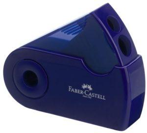 Faber Castell Ξύστρα Sleeve Διπλή Φούξια/Μπλε-1Τμχ (12307287)
