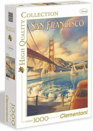 Clementoni Παζλ 1000 H.Q. Πίνακας San Francisco (1220-39174)