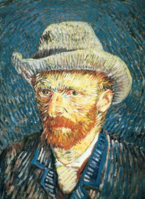 Clementoni Παζλ 500 Museum Van Gogh:Self-Potrait With Felt Hat (30317)