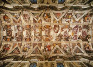Clementoni Παζλ 1000 Museum The Sistene Chapel Ceiling (39225)