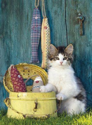 Clementoni Παζλ 500 H.Q.-The Cat (30345)