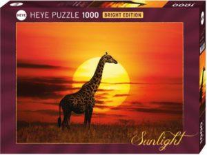 HEYE Παζλ 1000 Καμηλοπάρδαλη- Sunlight (400372-29688)