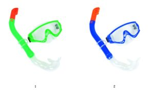 Bestway Σετ Μάσκα-Αναπνευστήρα Snorkelite (24020)