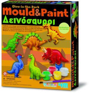 4M Δεινόσαυροι Μαγνητάκια/Καρφίτσα-Κατασκευή (3514/4M0049)