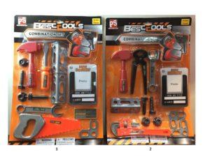 BW Σετ Εργαλεία-2 Σχέδια (2142AB)