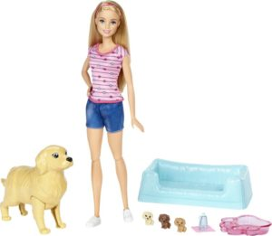 Barbie & Τα Νεογέννητα Κουταβάκια (FDD43)