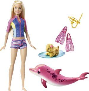 Barbie Dolphin-Εκπαιδεύτρια Δελφινιών (FBD63)