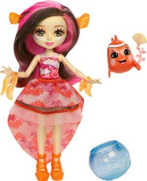 Enchantimals Κούκλα Του Βυθού & Ζωάκι Φιλαράκι Με Αξεσουάρ-3 Σχέδια (FKV54)