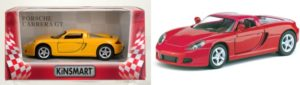 KIN Porsche Carrera GT 1:32-2 Χρώματα (KT5081W)