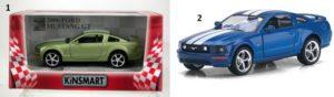 KIN Ford Mustang 1:38-2 Σχέδια (KT5091WF)