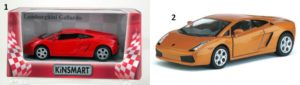 KIN Lamborghini Gallardo 1:38-2 Σχέδια (KT5098W)