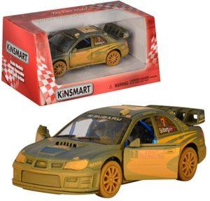 KIN Subaru Impreza WRC 2007 (Muddy) 1:32 (KT5328WY)