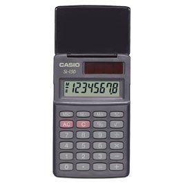 Casio Αριθμομηχανή 8 Ψηφίων LCD (6-SL-150)