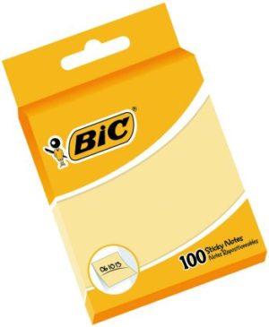 Bic Αυτοκόλλητα Σημειώματα 76x76 100SH (870440)