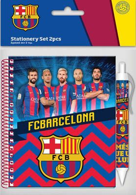 Barcelona Σημειωματάριο 10x15cm Με Στυλό (0170606)