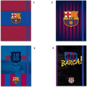 Barcelona Σημειωματάριο Με Λάστιχο 10x13