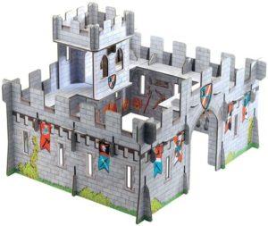 Djeco 3D Χάρτινο Μεσαιωνικό Κάστρο (176-07703)