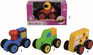 Eichhorn Ξύλινα Οχήματα-4 Σχέδια (2443)