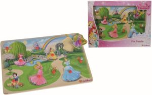 Eichhorn Ξύλινο Παζλ Disney Princess Pin - 11τμχ (100003348)