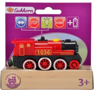 Eichhorn Ξύλινη Ατμομηχανή Τρένου E-Lok-2 Σχέδια (100001303-1037)