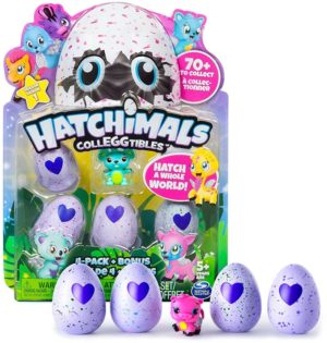 Hatchimals Συλλεκτικά 4 Pack S3+Φιγούρα (HAT05000)
