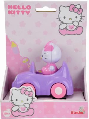 Simba Hello Kitty-Αυτοκινητάκι Press N Go (4011093)