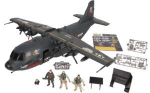 CM Soldier VIII-Αεροπλάνο AB-115 Shark Playset (521015)