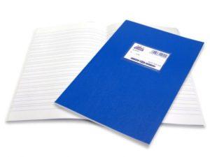 Skag Τετράδιο Super Μπλε 50 Φύλλων Διπλοχάρακα (110402)