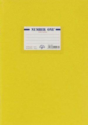 A&G Τετράδιο Κίτρινο Number One 17x25 50 Φύλλων 70gr-1Τμχ (13439)