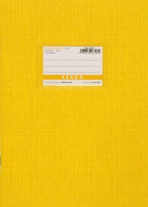 A&G Τετράδιο Κίτρινο Linen 17x25 50 Φύλλων 70gr-1Τμχ (26746)