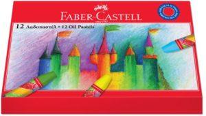 Faber Castell Λαδοπαστέλ 12Τμχ (12308089)