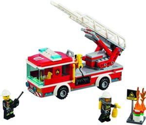 LEGO City Fire Ladder Truck (60107)