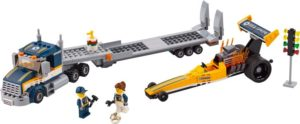 LEGO City Dragster Transporter (60151)