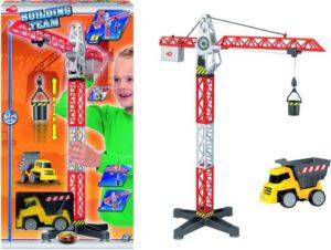 Dickie Σετ Γερανός 67cm & Φορτηγό Building Team (203463337)
