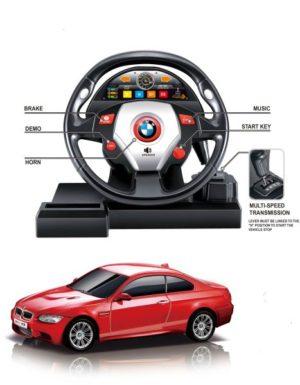 BW Τηλεκατευθυνόμενο BMW M3 & Τιμόνι 1:18 (1803SW)