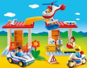 Playmobil 1.2.3 Αστυνομία & Παιδιατρείο (5046)