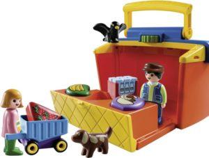 Playmobil 1.2.3 Βαλιτσάκι Μίνι Μάρκετ (9123)