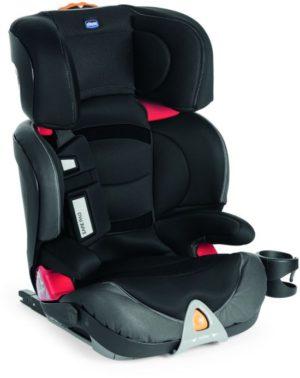 Chicco Κάθισμα Αυτοκινήτου Oasys 2-3 FixPlus EVO-Jet Black (R03-79159-51)