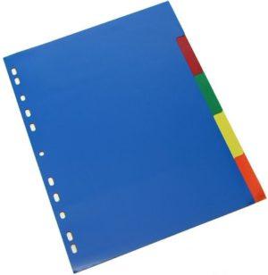Διαχωριστικά Α4 5 Χρωμάτων Metron (04688)
