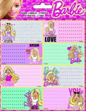 Barbie Ετικέτα-2 Τμχ (779-10246)