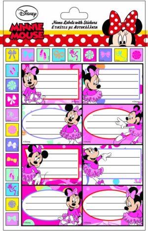Minnie Ετικέτα Glitter (773-13749)