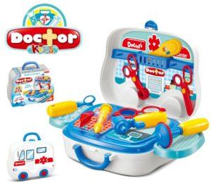 BW Kids Βαλιτσάκι Ιατρικό Playset (008-918A)