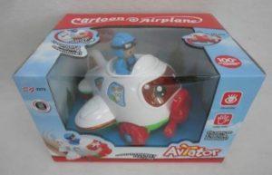 BW Αεροπλάνο Cartoon B/O Bump & Go (SG2278)