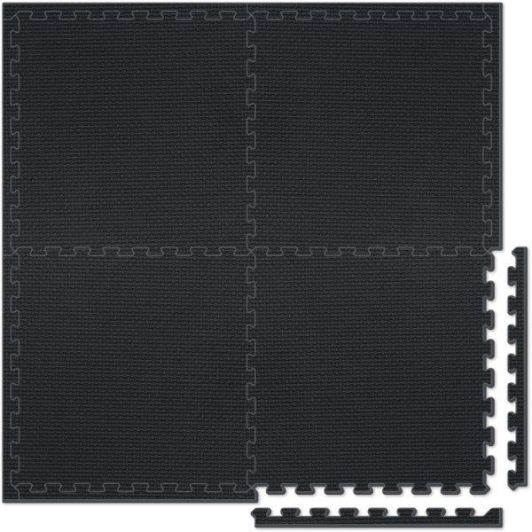 Sun Ta Παζλ Πατάκι Δαπέδου-4Τμχ Fitness Flooring System (2102N)