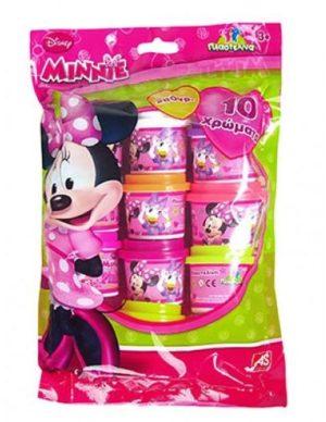 10 Βαζάκια 1oz σε Σακουλάκι Minnie (1045-03524)